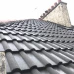 roof tiles after coating