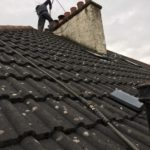 roof tiles before coating